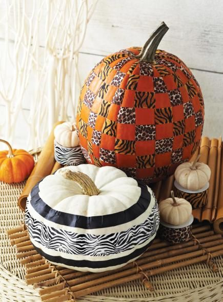 pumpkins with personality.