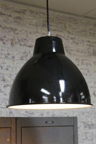 Loft Ceiling Pendant Light. Black pendant light. Online - Fat Shack Vintage - Fat Shack Vintage