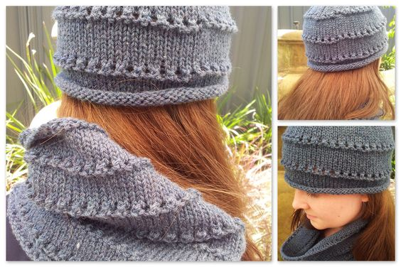 FitzBirch Crafts: Misty Morning Cowl (and Matching Hat)
