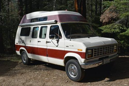 1987 Ford Camper Van For Sale Class B Rv Classifieds In 2020 Class B Camper Van Class B Rv Van For Sale