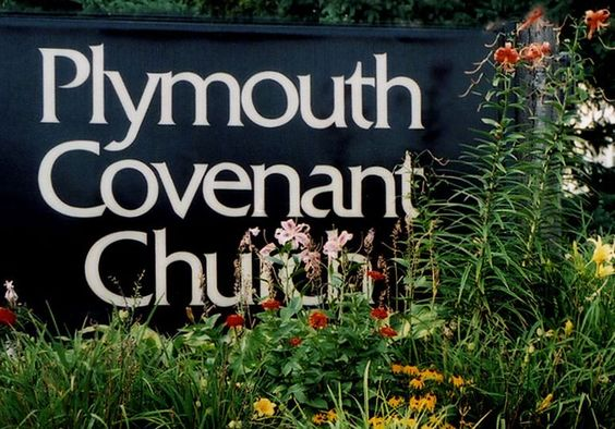 "Molly Wicham says, ""Plymouth Covenant Church is my current church. I love it."""
