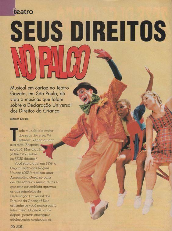 Armando Filho - ator Musical infantil Canção dos direitos da criança Personagem: Gargalhada