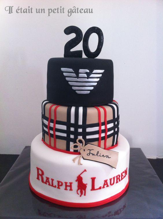 Burberry Cake Armani Cake Ralph Lauren Cake G 226 Teau
