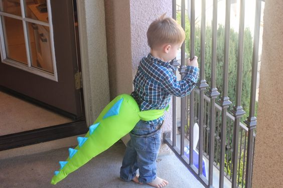 portrait, 2 of 52. easton loves wearing his dino tail...Red Hippo