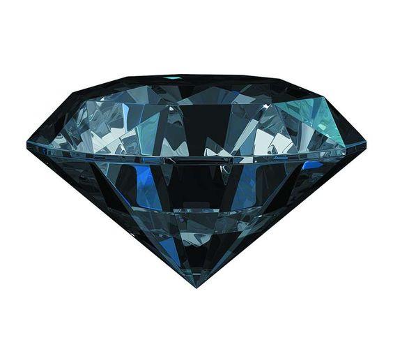Diamante nero - Diamante nero, il fascino scuro