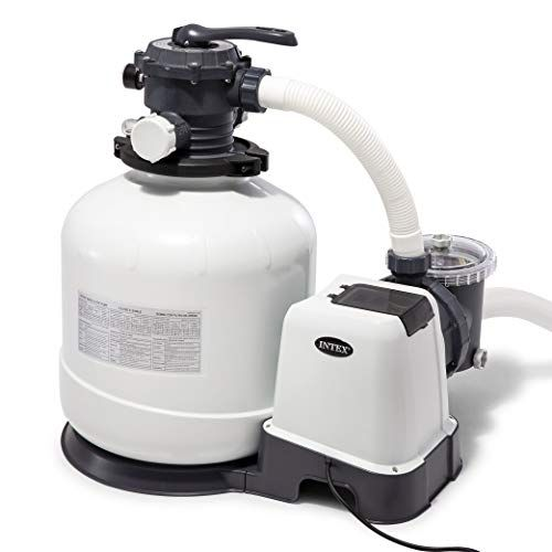 Intex Krystal Clear Sand Filter Pump For Above Ground Poo Https Www Amazon Com Dp B07f3fbt2z Ref Cm Sw R In Ground Pools Above Ground Pool Pumps Pool Sand