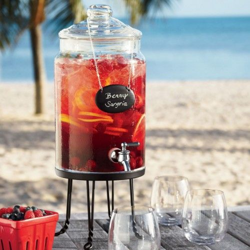 Sangria - cheap to make and great for the beach and Mexican theme. Can hire dispenser from http://www.hodgepodgehire.com.au/ or source plastic one from Overflow: