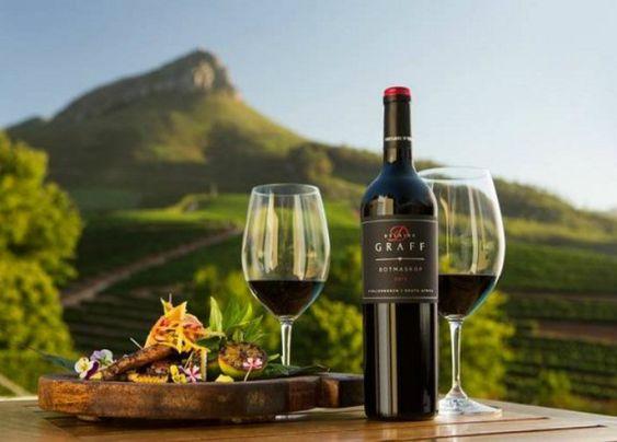 rượu vang Nam Phi