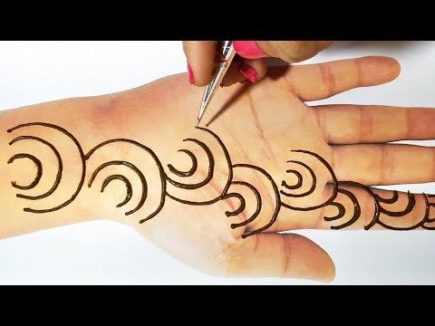 New Mehndi Trick from Letter C , Latest Mehndi Design 2019
