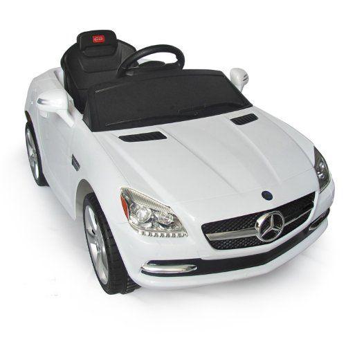 Mercedes benz slk kids 6v electric ride on toy car w for Mercedes benz electric car for kids
