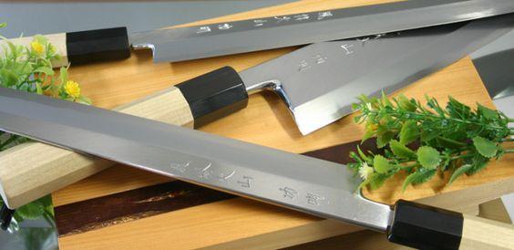 Японские ножи для резки овощей и зелени
