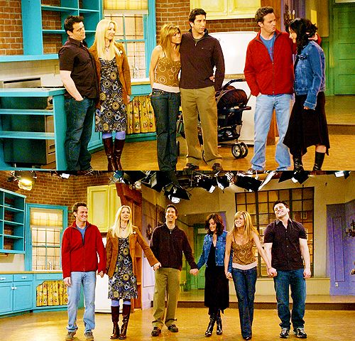 Friends tv show quotes...final curtain call...man I wish I could have had tickets to see the filming of the last episode