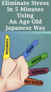 ELIMINATE STRESS IN 5 MINUTES USING THE ANCIENT JAPANESE WAY