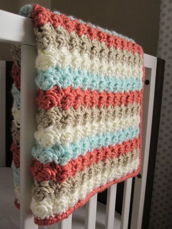 Crochet Baby Blanket Patterns Worsted Weight Yarn : Pinterest The world s catalog of ideas