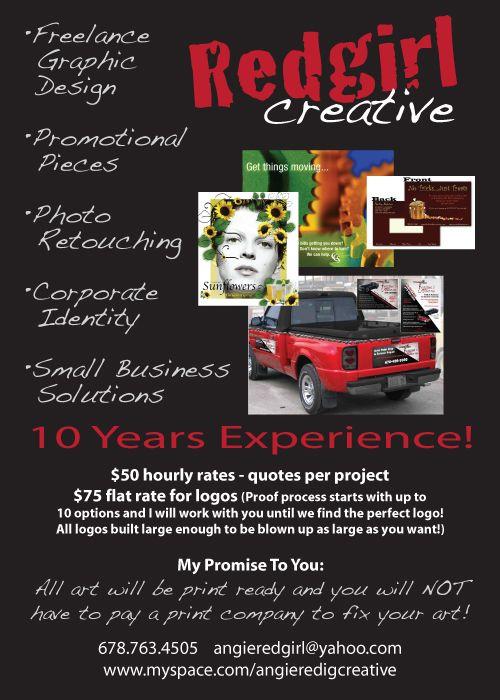 Ad for my freelance biz!