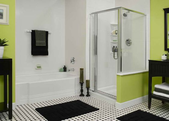 Ideas For Small Bathrooms Without Windows  Green And White Paint Color For Small Bathroom With. Ideas For Small Bathrooms Without Windows  Green And White Paint