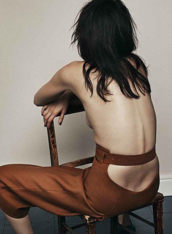 Sabrina Ioffreda con Acne Studios para Dansk Magazine A/W 2015 - 2016 por Thomas Cooksey ph.