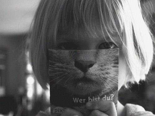 Girl-catmask