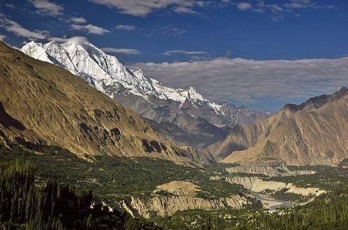 Rakaposhi and the Hunza Valley, Pakistan