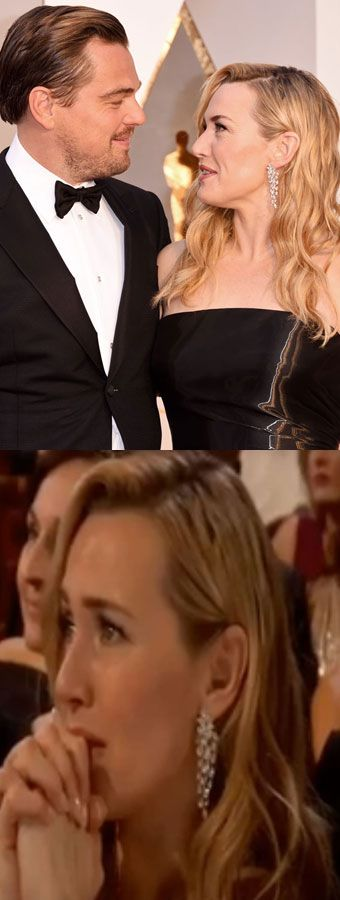 Leonardo DiCaprio and Kate Winslet were BFF *goals* at the Oscars...