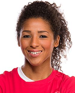 Midfielder Desiree Scott made her Olympic Games debut for Canada in London and…