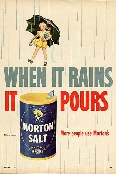 The Morton Salt Girl Turns 100! (reminisce.com)