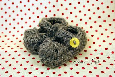 Patucos Crochet
