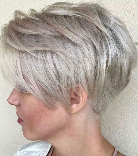 Frisuren mit grauen haaren