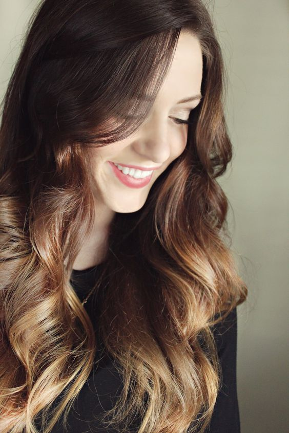 Dark Ombre Hair, Love this hair colour!!