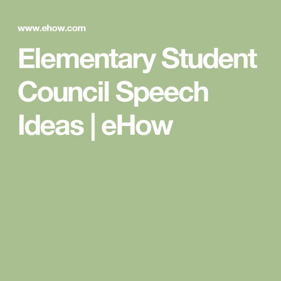 student council speech ideas 1) i want the students to have a voice in st joseph's for that we have a pupil council the thing is though, the pupil council is absolutely useless i'm not just saying that for no reason i was a member of the council until my 5th year and i'm sure some of you will agree with me when i say that while we talked.