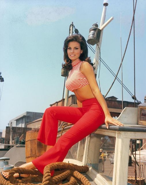 Raquel Welch in Red