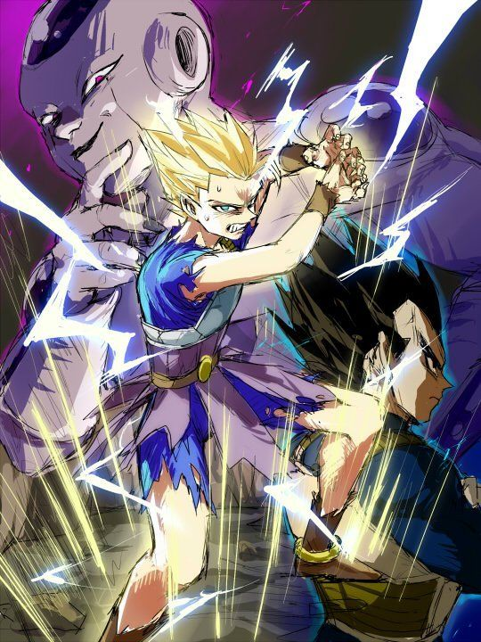 Cabba Vegeta And Frieza Dragon Ball Art Dragon Ball Gt Dragon Ball Super Wallpapers