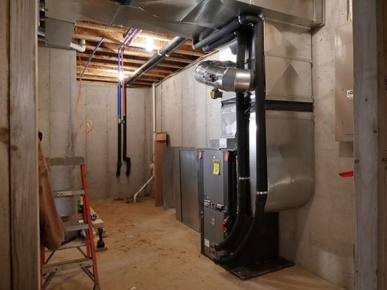 A Geothermal Heat Pump Takes Care Of Heating And Cooling