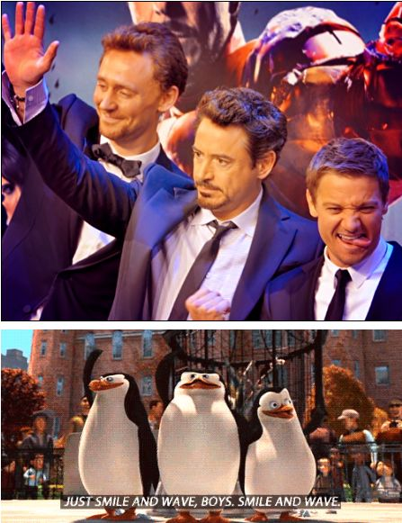 """""""Smile and wave boys, Smile and wave"""""""