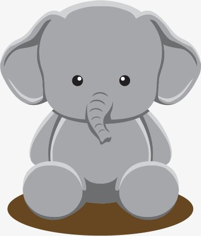 Cute Baby Elephant Elephant Clipart Baby Vector Elephant Vector Png And Vector With Transparent Background For Free Download Cute Baby Elephant Baby Elephant Elephant