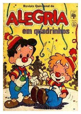 Alegria em Quadrinhos #nostalgia