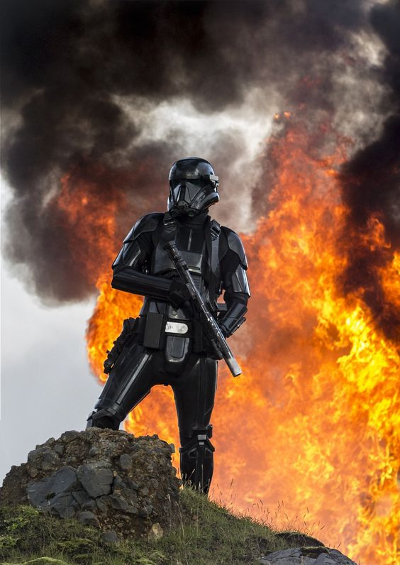 Rogue One: A Star Wars Story..A Death Trooper..Ph: Jonathan Olley..©Lucasfilm LFL 2016.