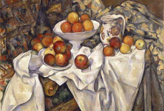 Paul Cézanne French 1839–1906 Still life with apples 1895–98 oil on canvas 68.6 x 92.7 cm The Museum of Modern Art, New York Lillie P. Bliss Collection, 1934 Digital Image © The Museum of Modern Art, New York, 2018