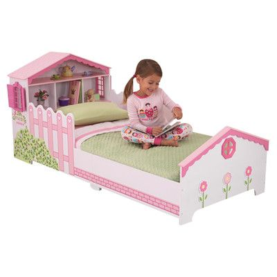 Dollhouse Toddler Bed