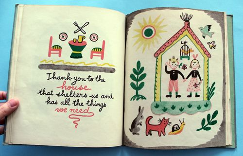 The Thank-You Book by Francoise, 1947