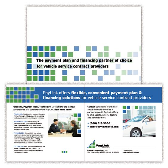 PayLink Payment Plans Brochure (http\/\/wwwpaylinkdirect - vehicle service contract