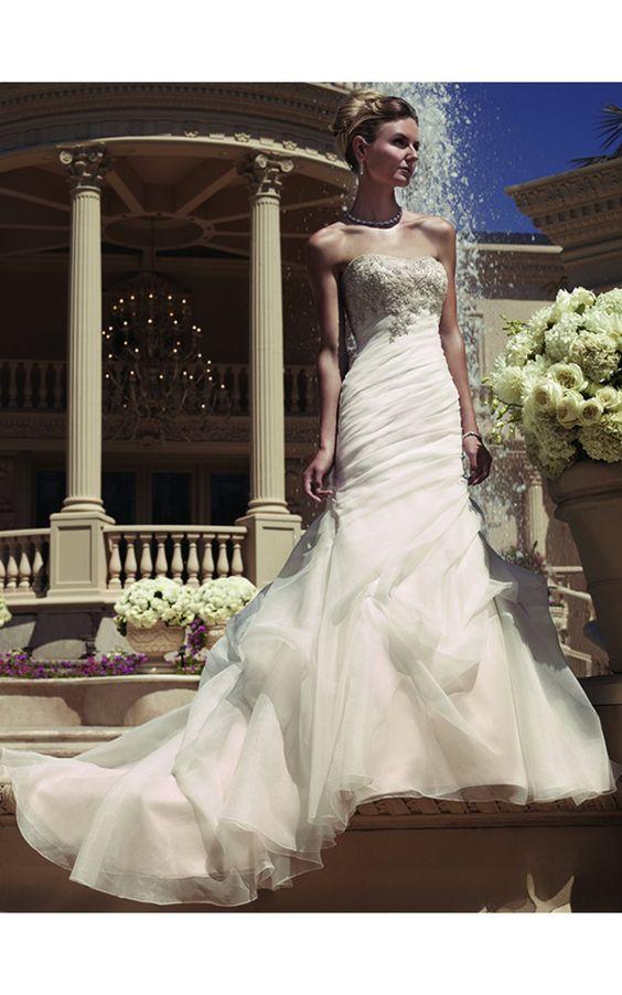 Casablanca Gowns Casablanca 2107 Bridal Gown Patricia