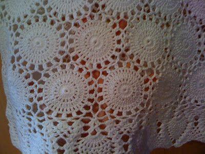 Hooked on crochet: White crochet top / Blusa branca de crochê