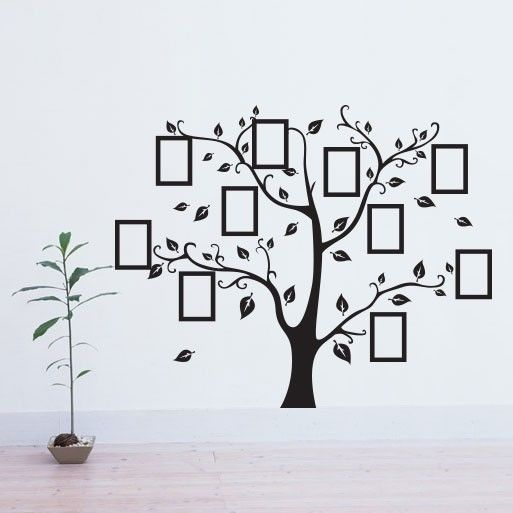 Artesanato Baiano Onde Comprar ~ Adesivo de paredeÁrvore Genealógica creche Pinterest