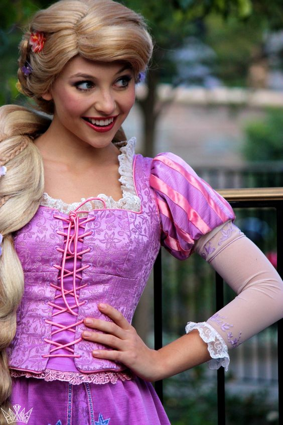 Rupunzel...so awesome...she fights with a dang frying pan! She's pure awesome.