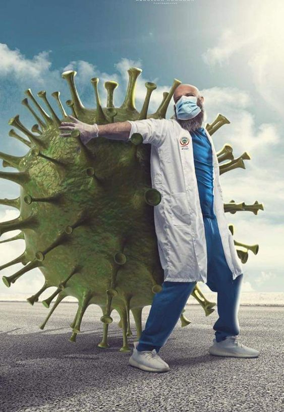 To all medical personnel around the world working to contain Coronavirus thank you so much!