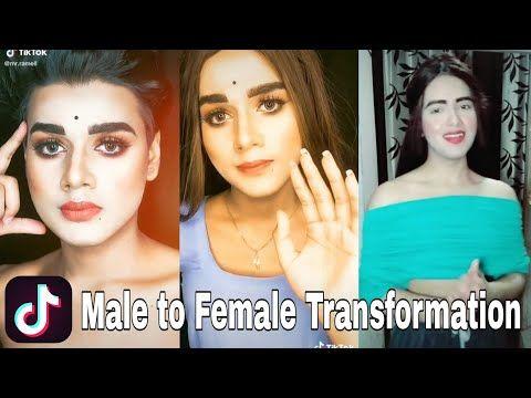 Male To Female Transformation Tiktok Boy To Girl Make Up Transformation Tik Tok 2 Male To Female Transformation Female Transformation Male To Female Transition
