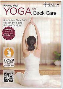 Yoga for Back Care DVD Weight Loss Fitness 10 Bonus Online Exercise Classes NEW 18713528889 | eBay