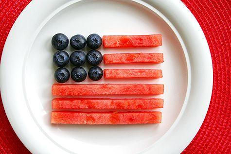 Easy #Healthy #Patriotic Snack
