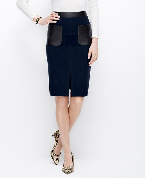Patch Pocket Pencil Skirt | Ann taylor, Pencil skirts and Taylors